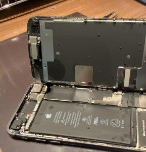 iPhone8水没例