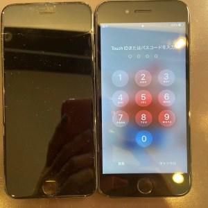 iPhone8の画面交換後