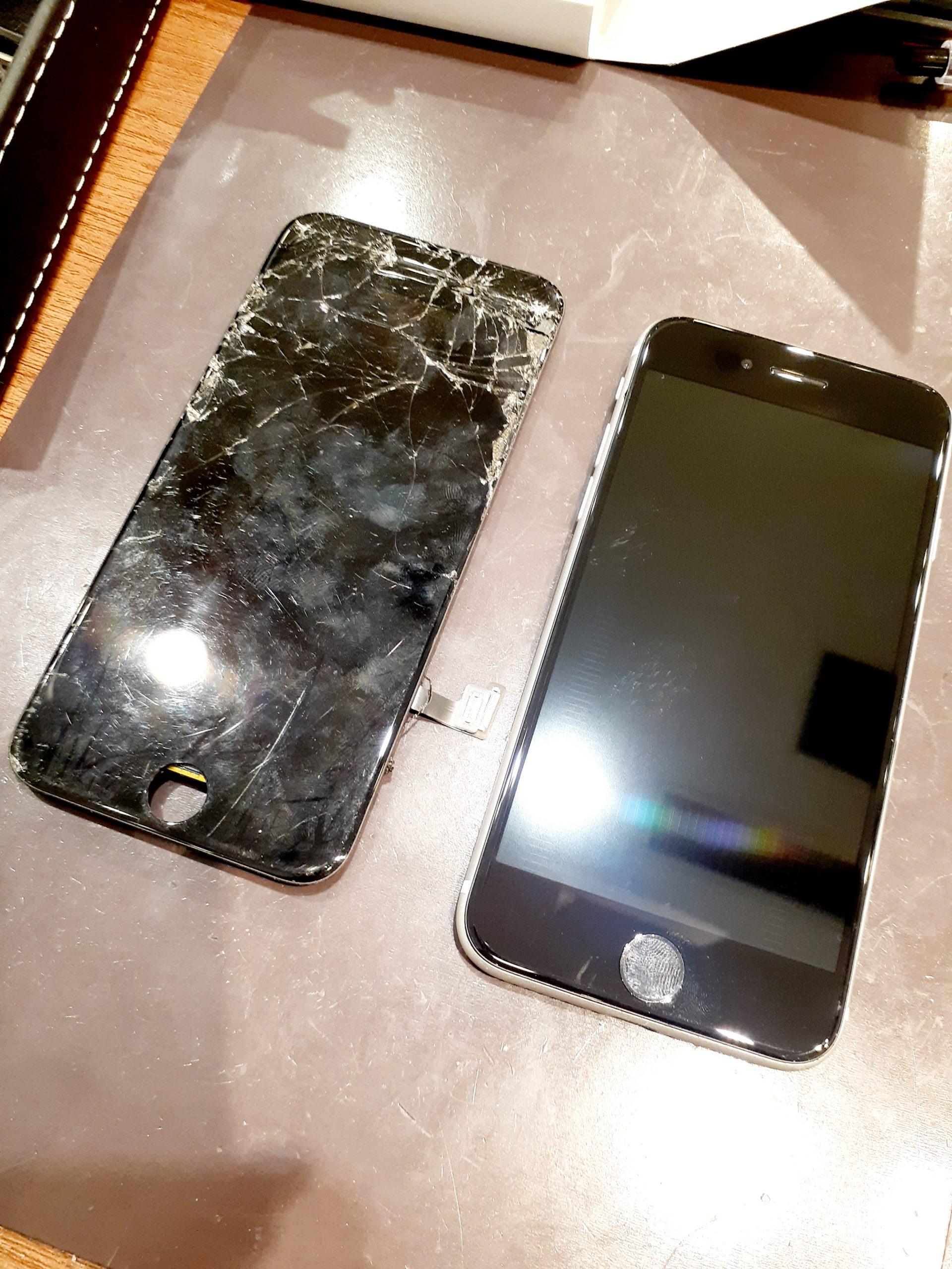 iPhoneのガラスが割れてしまったらすぐにスマートクールへ!!📱✨