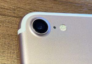 iPhone7外カメラレンズ修理後