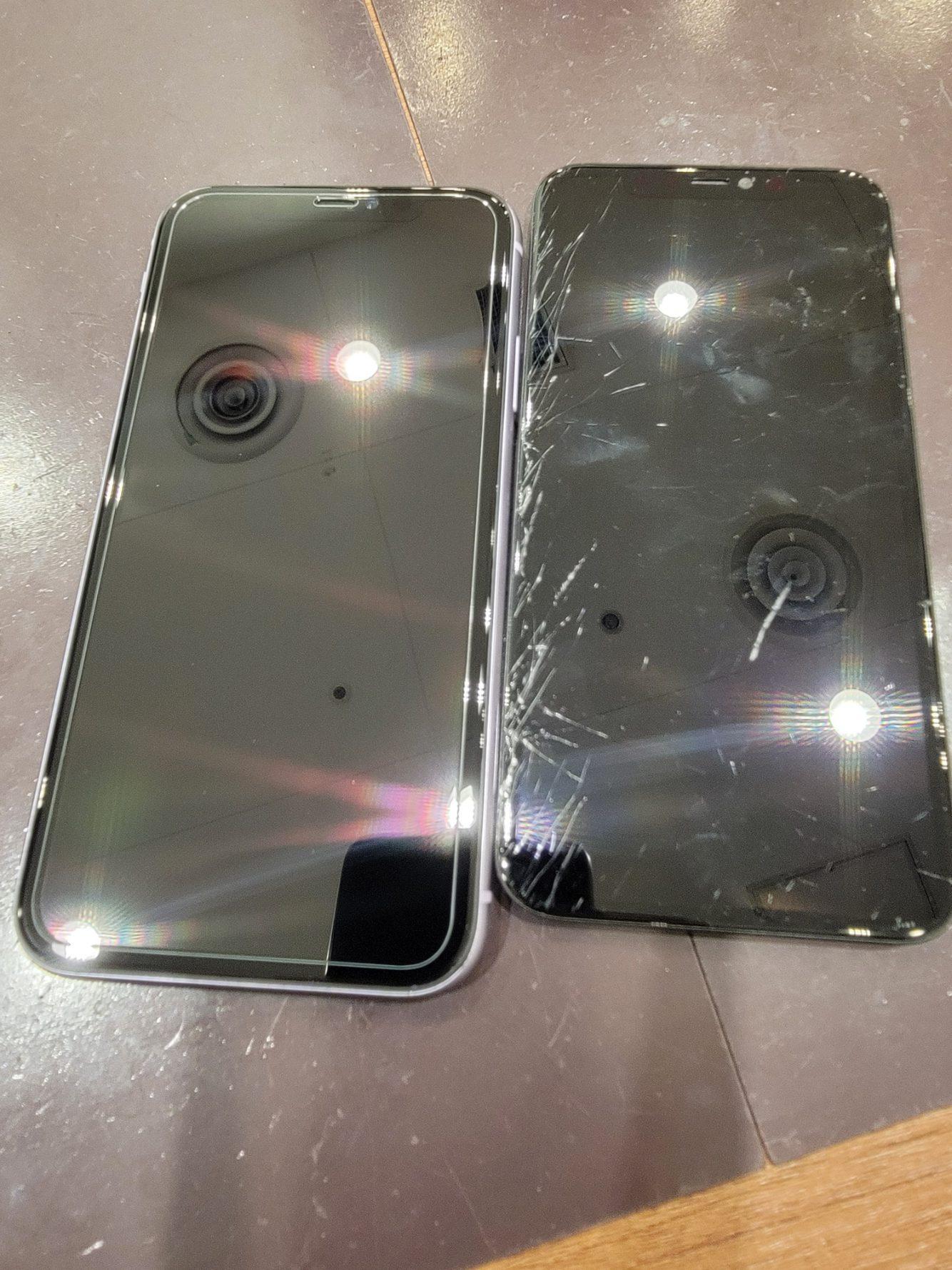 iPhoneXS / 画面割れ交換 / 垂水区からご来店