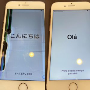 iPhone6画面交換