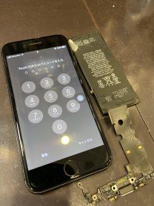 iPhone7バッテリードック交換