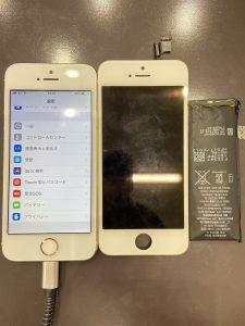 iPhone5S修理後