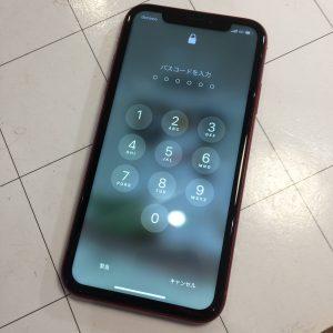 iPhoneパスワード画面