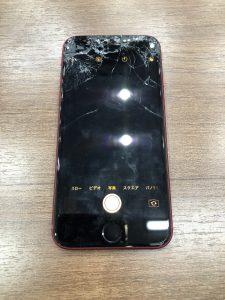 画面交換をしたiPhoneSE2