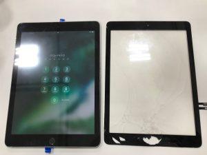 ガラス交換iPad5