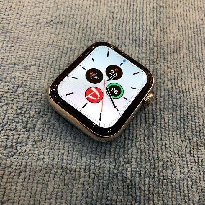 【施工紹介】Applewatchもガラスコーティング出来るんです!Applewatchのガラスコーティング。〈岡山県倉敷市からのお客様〉