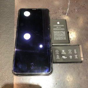 iPhoneXSmaxバッテリー交換