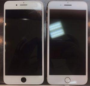 iphone8の画面割れとバッテリー交換修理