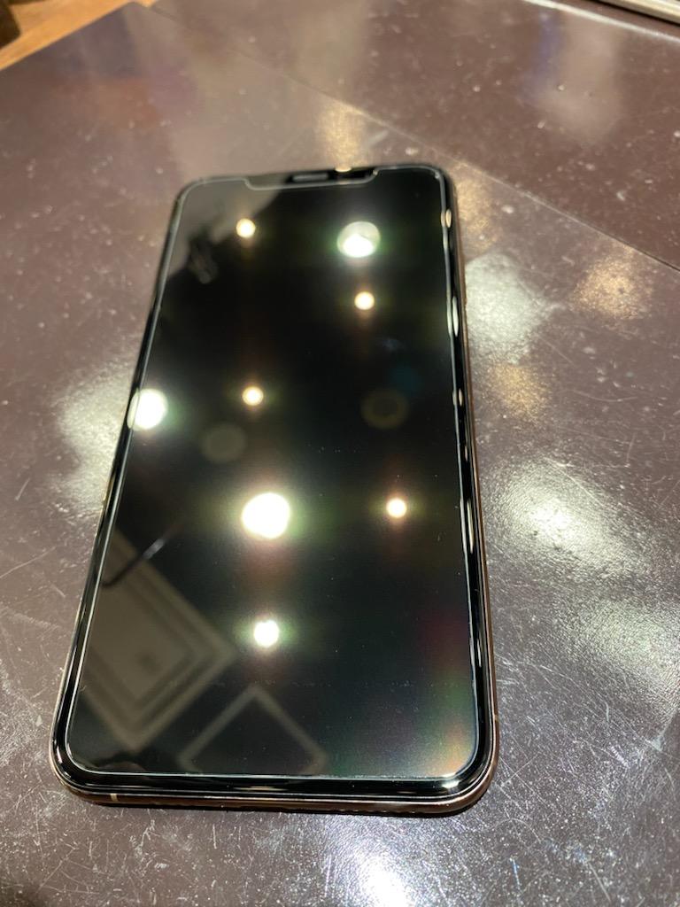 iPhoneXSmax ガラスコーティング 強化ガラスフィルム 【奈良県生駒郡より】