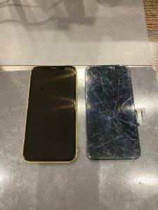 アイフォン11 画面割れ修理できます