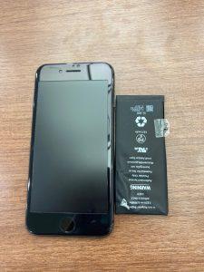 iPhone8バッテリー交換 八幡西区