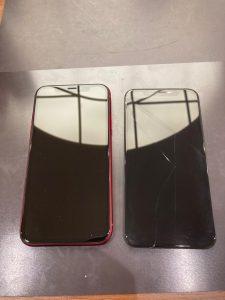 アイフォーンXR 画面割れ修理