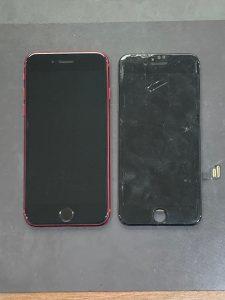 アイフォーンSE(第二世代) 画面交換【iPhoneSE2】 田川