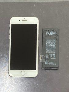 アイフォーン8 電池交換【iPhone 8】 直方市