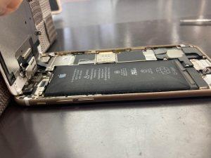 アイホン6 電池交換【iPhone 6】 田川郡 バッテリーの膨張