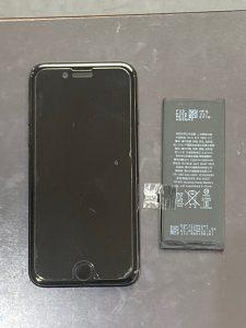 アイホーン7電池交換