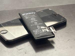 アイホーン5 電池交換【iPhone 5】 大分市