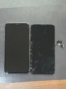 アイホーンテン 画面割れ【iPhone X】 直方市