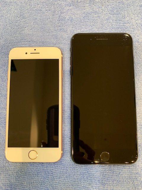 iPhone7・8plusスマホガラスコーティング<豊田市よりお越しのお客様>