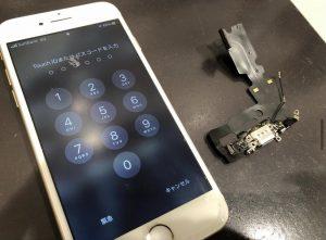 iPhone6 ドックコネクタ交換<大阪市からお越しのお客様>