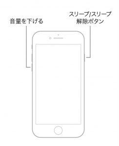iPhoneのバクこれで直るかも!?強制終了の方法お教えいたします!!(梅田のiPhone修理専門店)