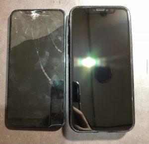 iPhoneX 画面交換<大阪市からのお客様>