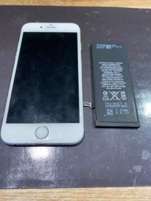 iPhone6/バッテリー