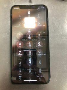 iphoneXの液晶がブレ、ゴーストタッチも発生