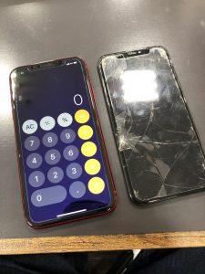 アイフォンエイトガラス交換