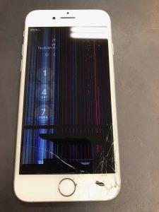 液晶破損iPhone7