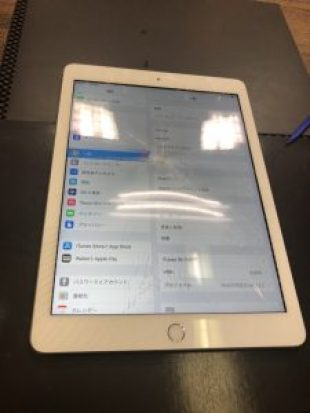 iPad5ガラス割れ