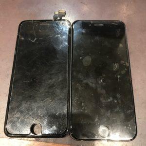 iPhone6plus 画面交換