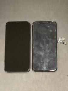 iPhone X 白い線が入る… 落下 亀山市