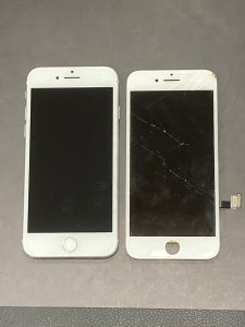 iPhone 8 ガラス割れ 伊賀市