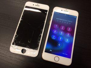 画面交換・iPhone7・高松市のお客様