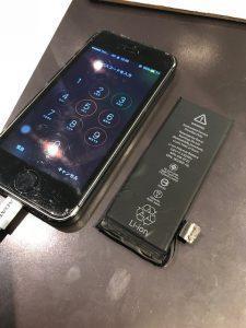 バッテリー交換・iPhone5S・綾歌郡のお客様