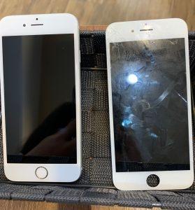 液晶交換をしたiPhone7