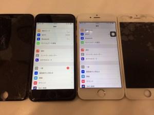 画面交換・iPhone6・6S・高松市のお客様