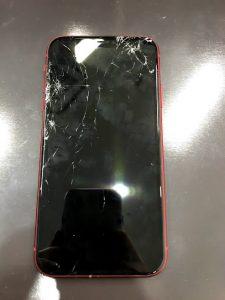 画面が割れたiPhone11