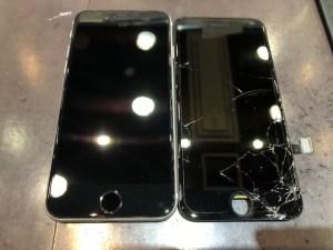 iPhoneSE2・画面交換《高松市からお越しのお客様》