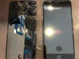 iPhone6+・バッテリー交換・高松市からのお客様