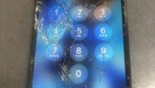 iPhone7の画面割れ修理 京都府城陽市周辺より