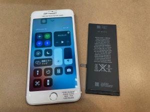 バッテリーが劣化したiPhone6sp