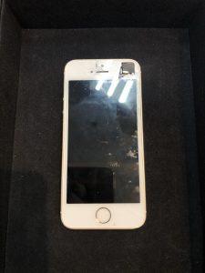 画面が破損したiPhoneSE