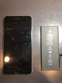 iPhone8|バッテリー交換|横浜市青葉区からご来店