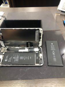 電池交換アイフォン