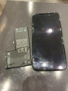 iPhoneX バッテリー