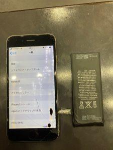 アイフォン6 バッテリー交換